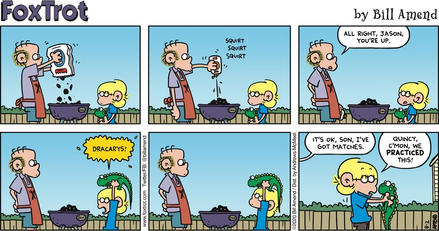 FoxTrot Comic Strip for August 02, 2020