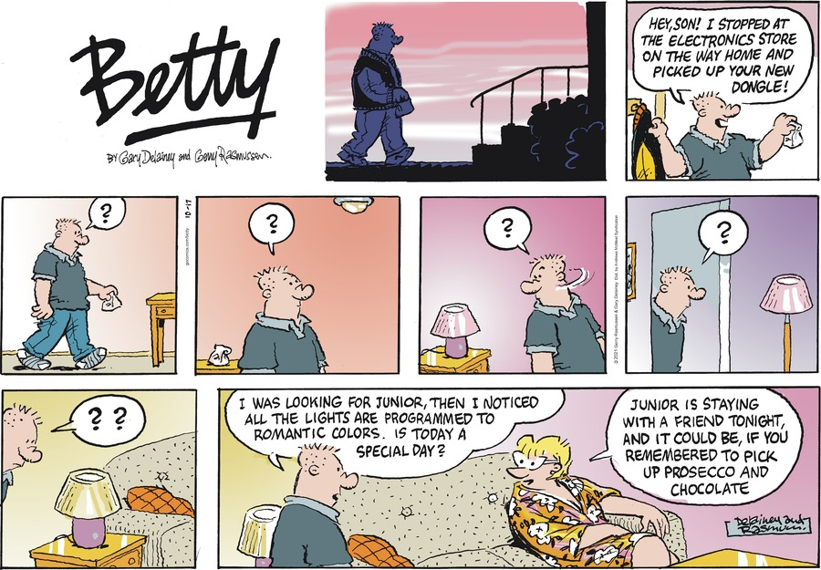 Betty by Gary Delainey and Gerry Rasmussen on Sun, 17 Oct 2021