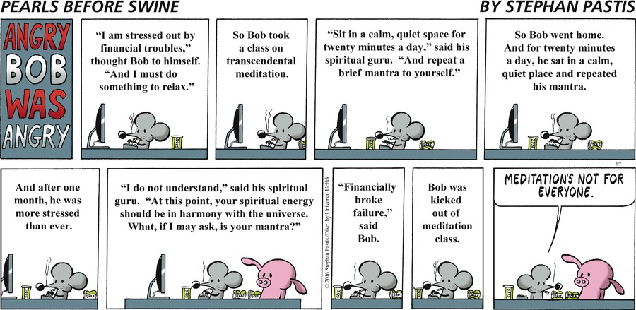 Pearls Before Swine for Aug 7, 2016 Comic Strip