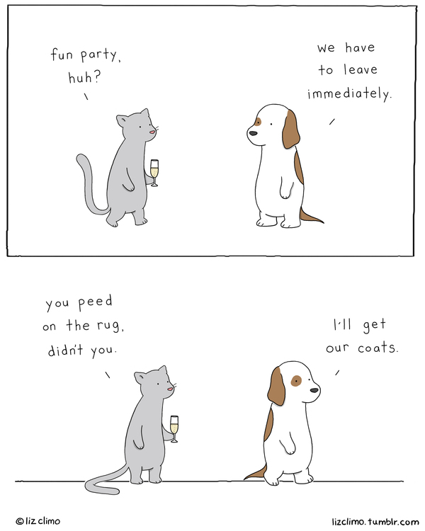 Liz Climo Cartoons Comic Strip for December 27, 2019