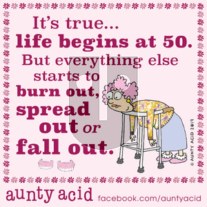 Aunty Acid on Wednesday October 2, 2019 Comic Strip