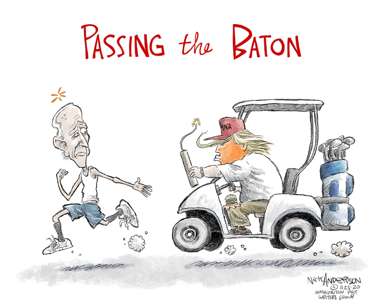 Nick Anderson Comic Strip for November 23, 2020