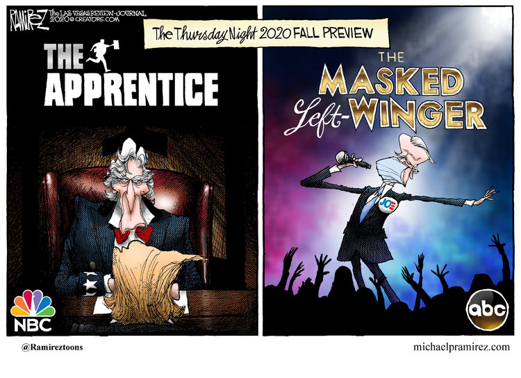 Michael Ramirez Comic Strip for October 16, 2020