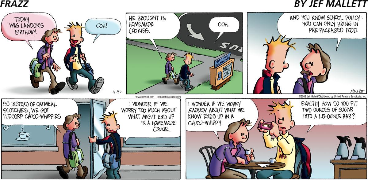 Frazz Comic Strip for April 30, 2006