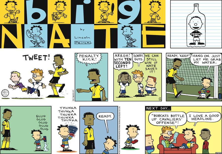 Big Nate Comic Strip for October 29, 2017