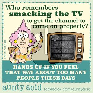 Aunty Acid - Wednesday January 22, 2020 Comic Strip