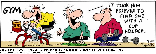 Frank and Ernest for Feb 10, 2001 Comic Strip