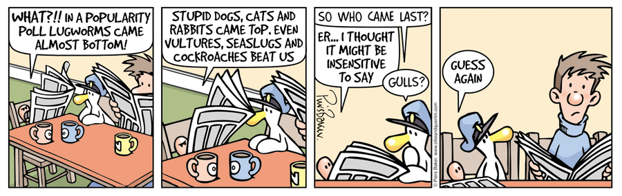 Ollie and Quentin Comic Strip for March 21, 2016