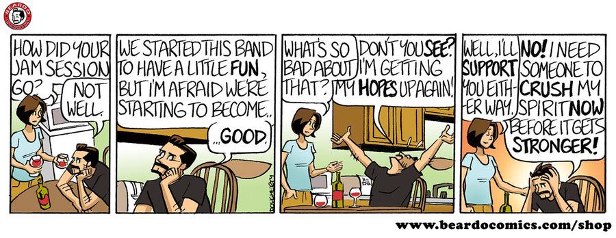 Beardo Comic Strip for October 09, 2019