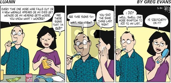 Luann on Sunday May 24, 2020 Comic Strip