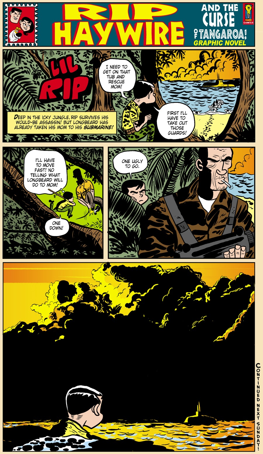 Rip Haywire Comic Strip for April 06, 2014