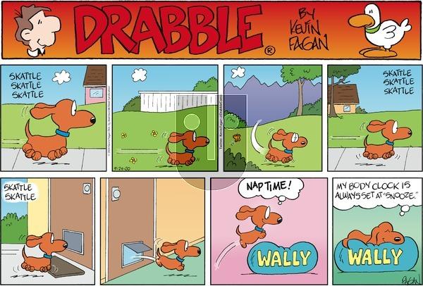 Drabble on Sunday May 24, 2020 Comic Strip