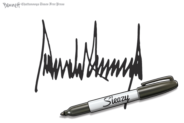 Clay Bennett by Clay Bennett for October 02, 2019