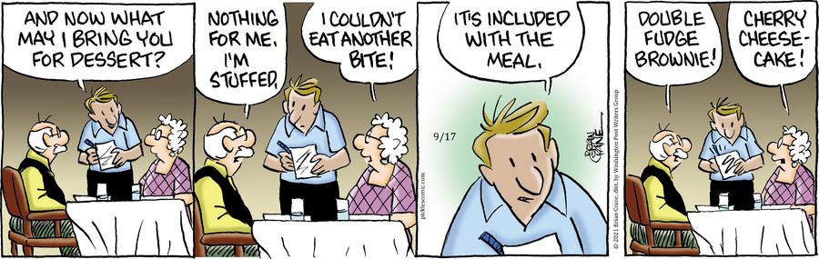 Pickles Comic Strip for September 17, 2021