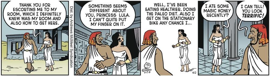 Alley Oop Comic Strip for April 02, 2020
