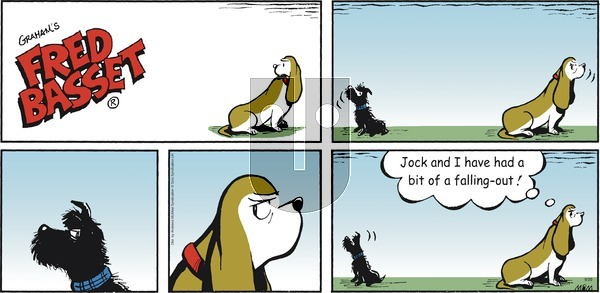 Fred Basset - Sunday September 20, 2020 Comic Strip