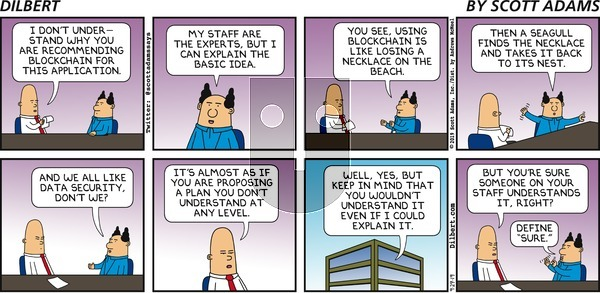 Dilbert on Sunday September 29, 2019 Comic Strip