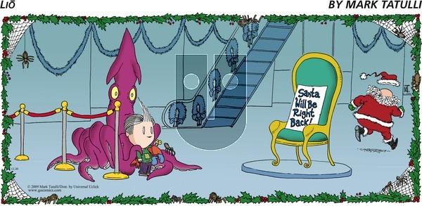 Lio on Sunday December 20, 2009 Comic Strip