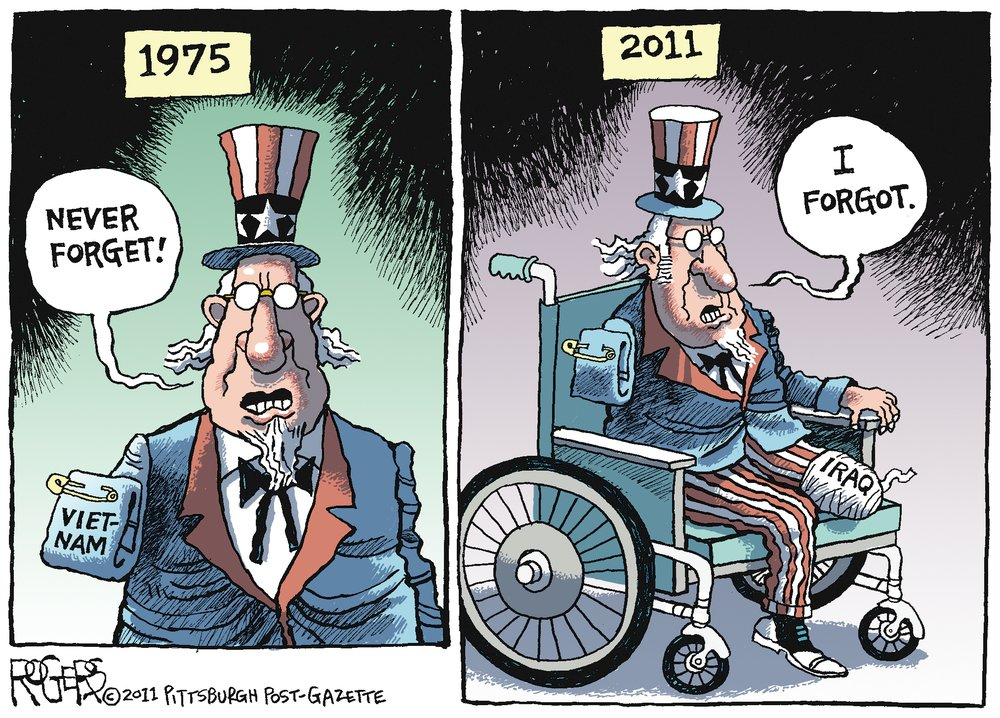 Rob Rogers Comic Strip for December 18, 2011
