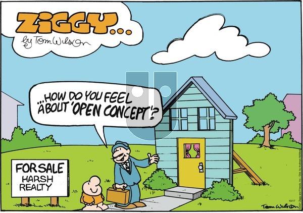 Ziggy on Sunday October 17, 2021 Comic Strip
