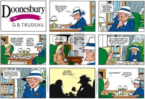 Doonesbury on Sunday June 15, 1997 Comic Strip