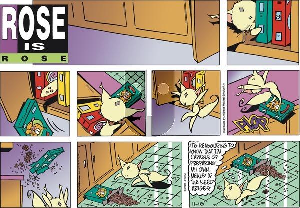 Rose is Rose on Sunday November 15, 2020 Comic Strip