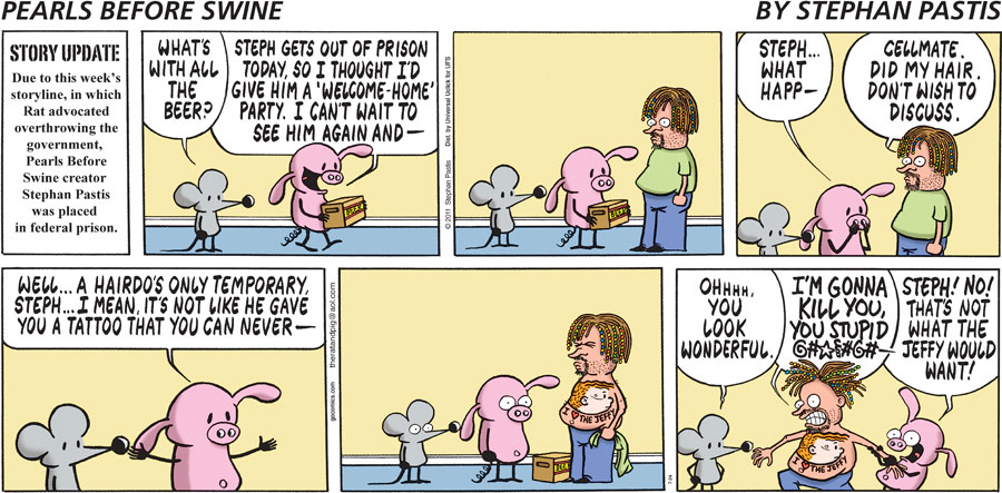 Pearls Before Swine for Jul 24, 2011 Comic Strip