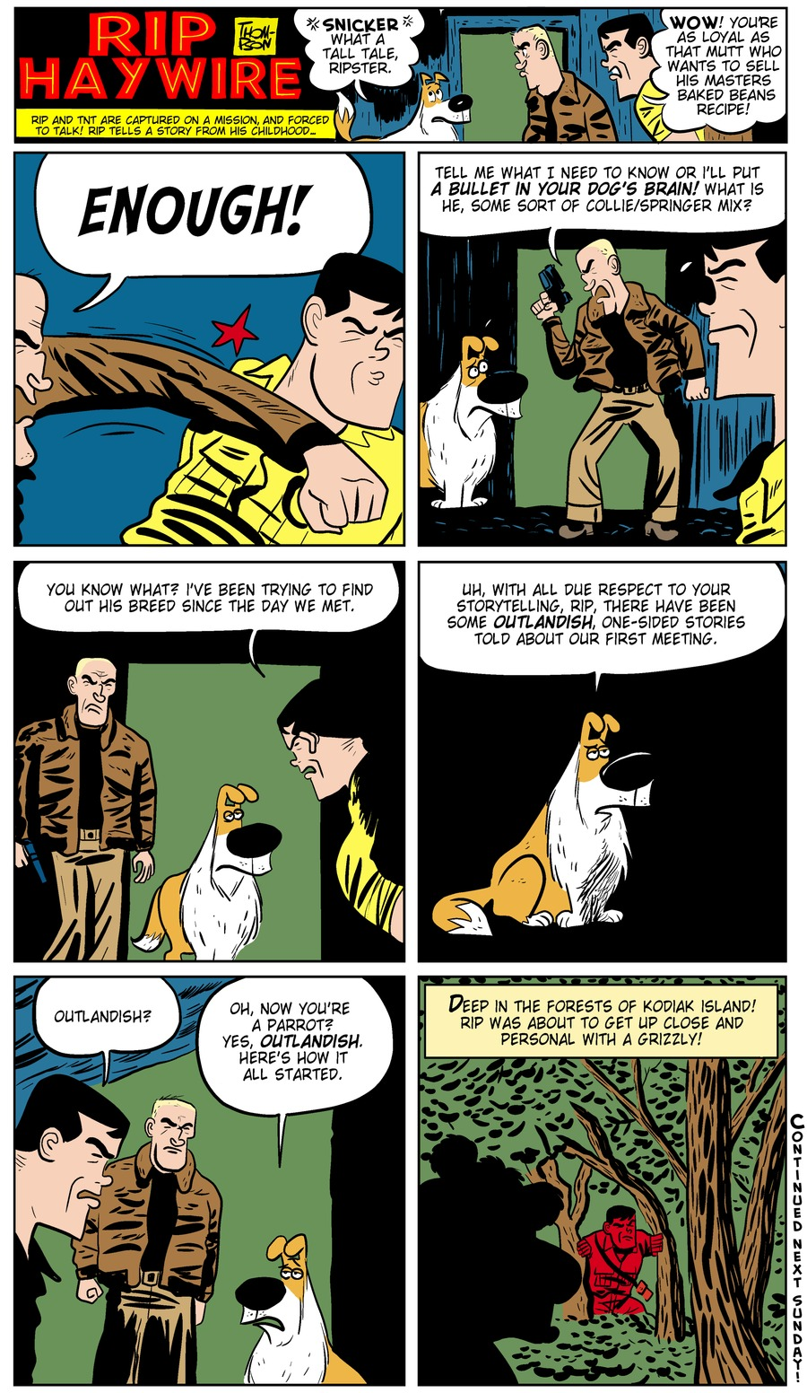 Rip Haywire Comic Strip for June 02, 2013
