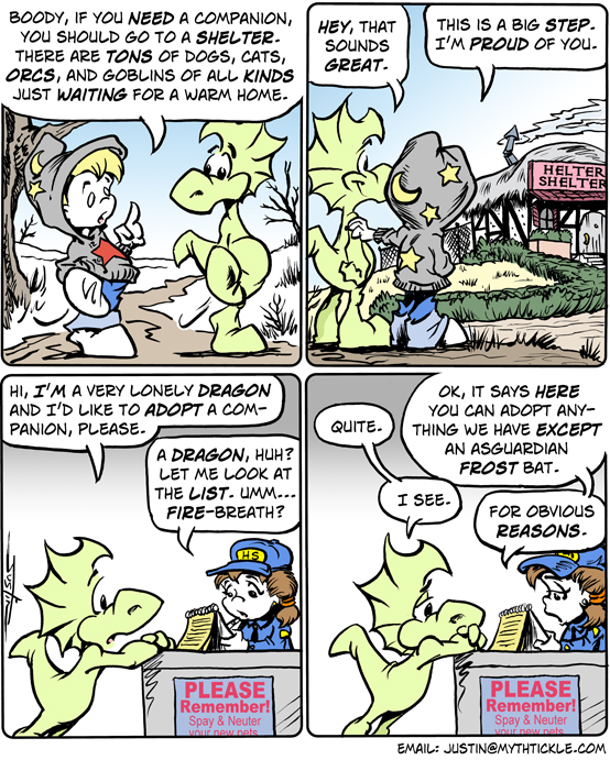 MythTickle Comic Strip for January 16, 2009