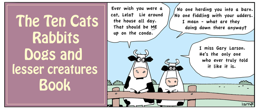 Ten Cats by Graham Harrop for May 21, 2019