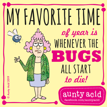 Aunty Acid by Ged Backland for June 17, 2019