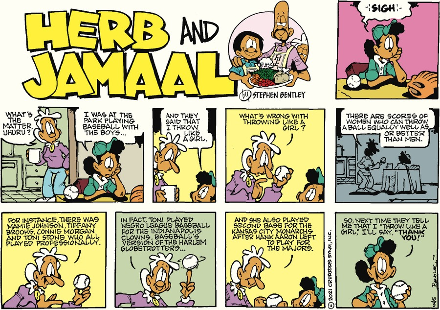 Herb and Jamaal by Stephen Bentley on Sun, 03 Oct 2021