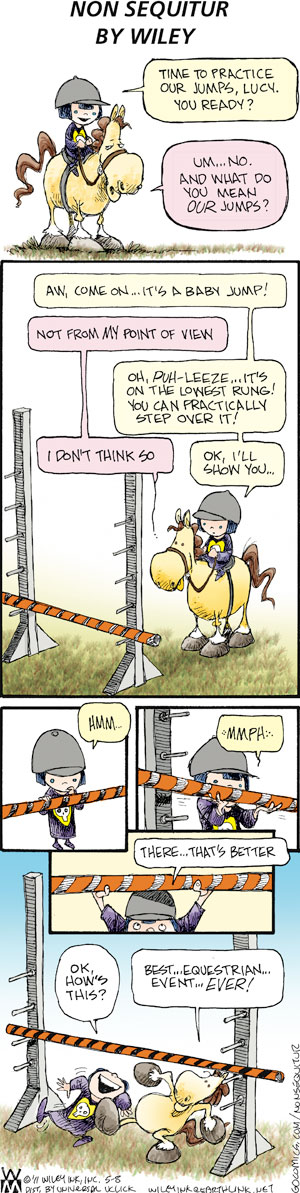 Non Sequitur for May 8, 2011 Comic Strip