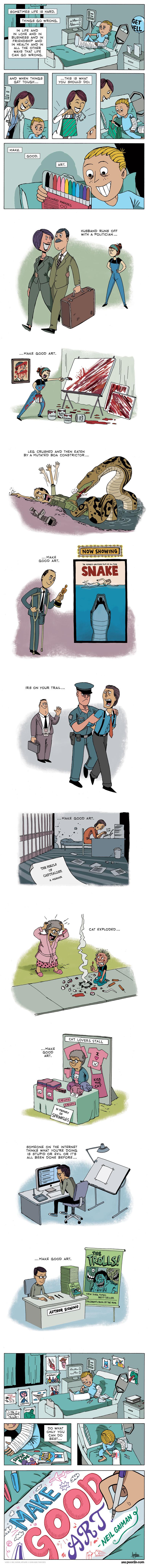 Zen Pencils Comic Strip for April 25, 2015
