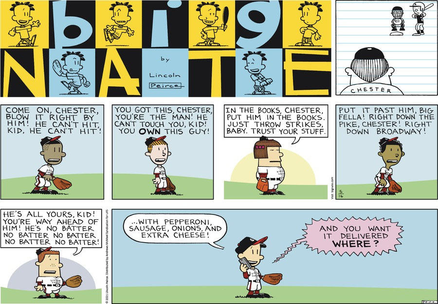 Big Nate Comic Strip for May 16, 2021