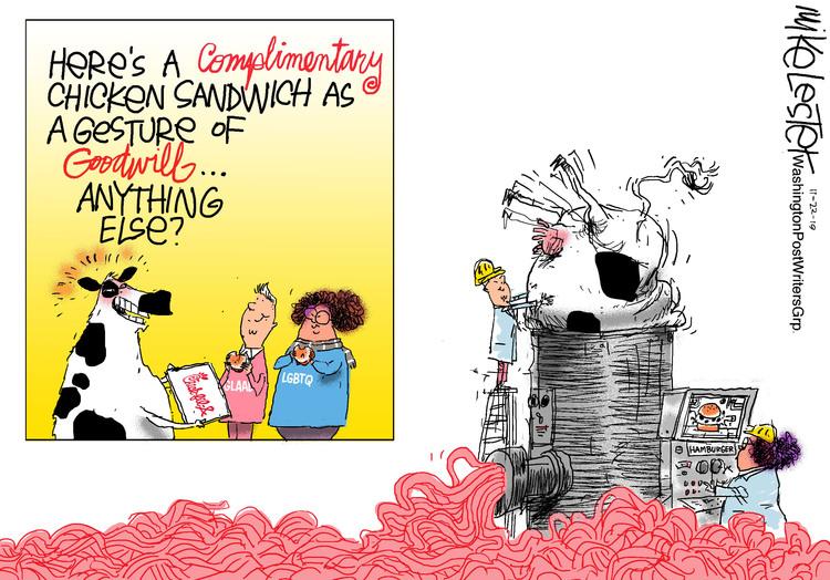 Mike Lester Comic Strip for November 21, 2019