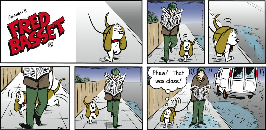 Fred Basset Comic Strip for January 19, 2014
