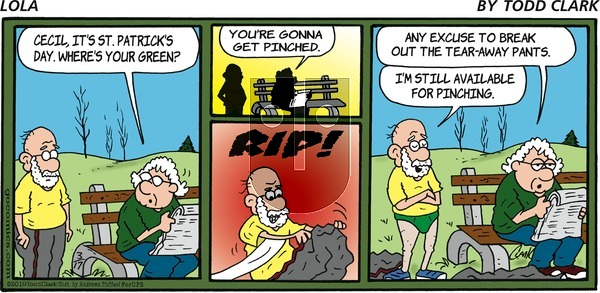 Lola on Sunday March 17, 2019 Comic Strip