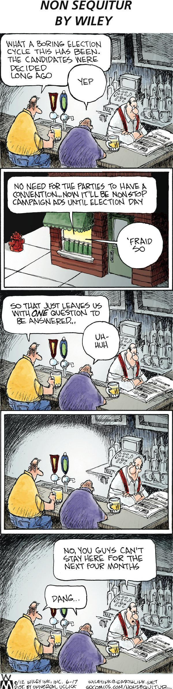 Non Sequitur Comic Strip for June 17, 2012
