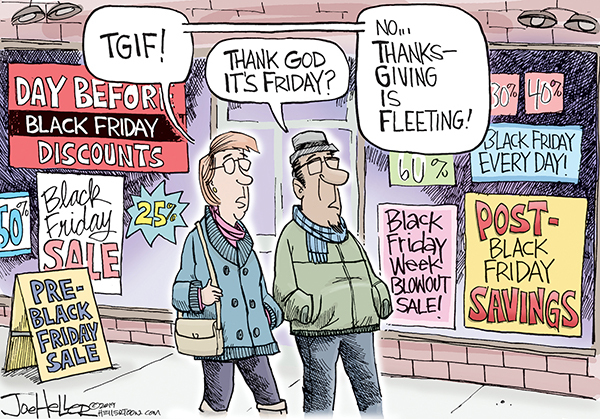 Joe Heller Comic Strip for November 25, 2019