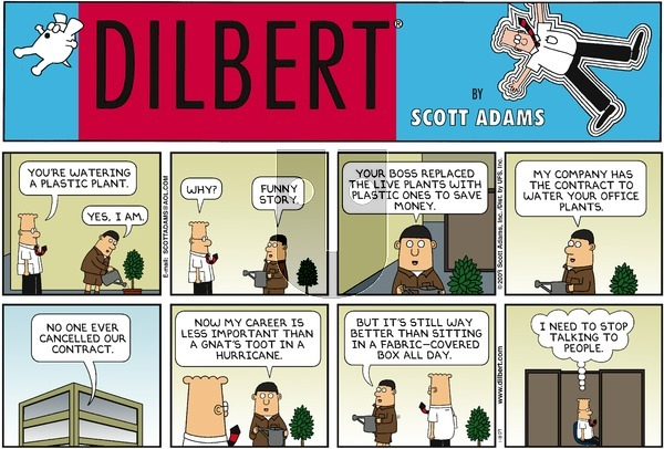 Dilbert - Sunday January 18, 2009 Comic Strip
