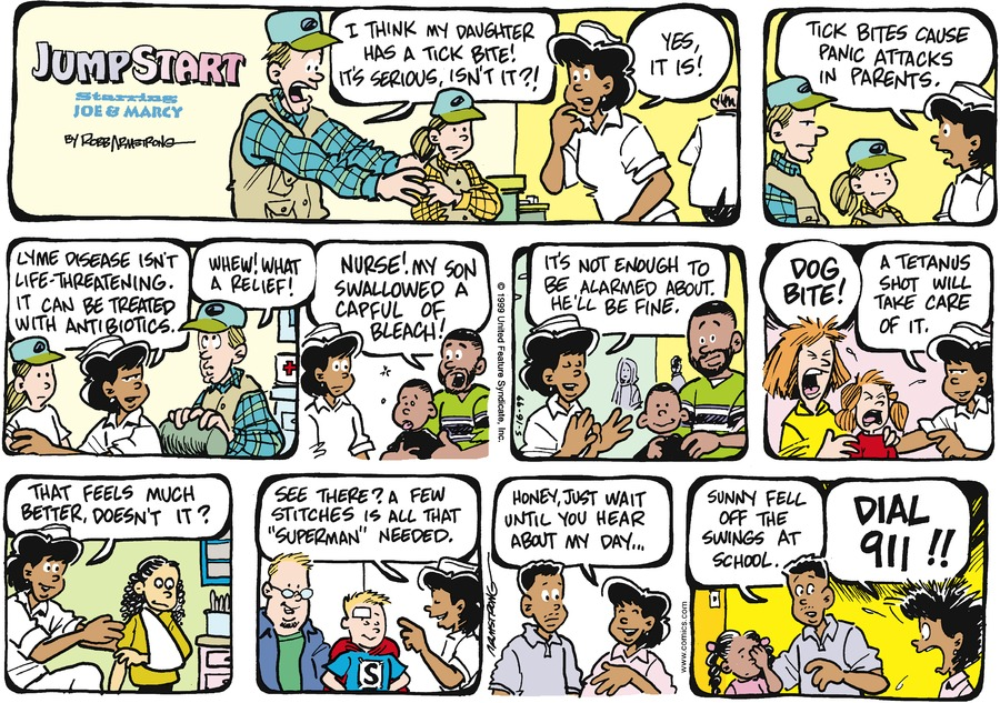 JumpStart for May 16, 1999 Comic Strip