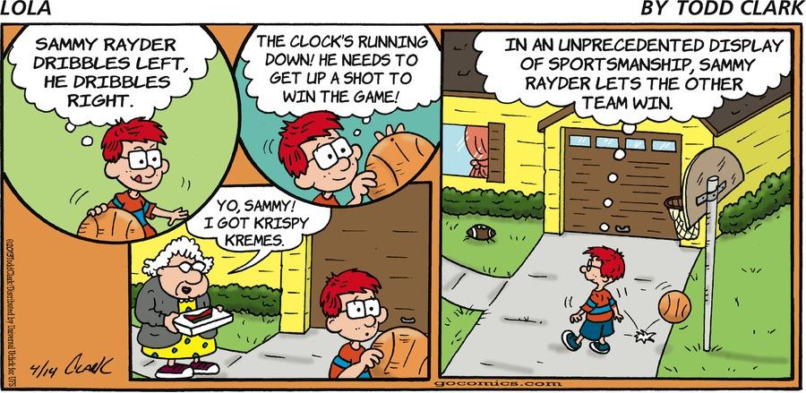 Lola Comic Strip for April 14, 2013