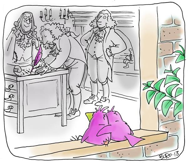 Speechless for Jul 4, 2013 Comic Strip
