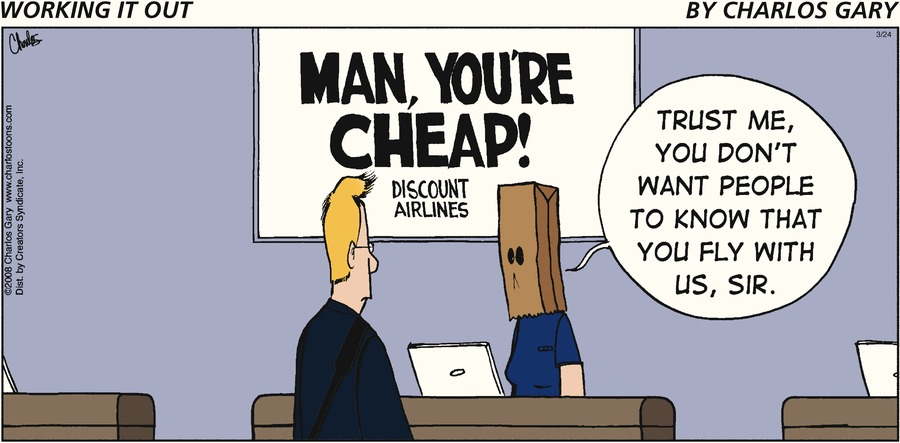 Working It Out Comic Strip for March 24, 2013