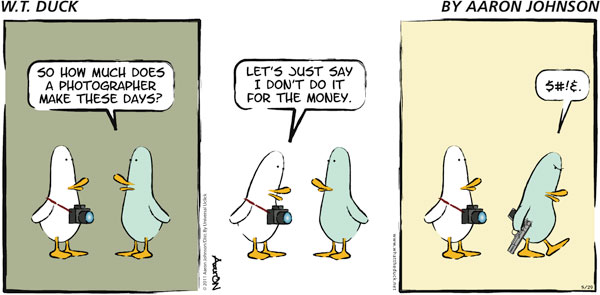 W.T. Duck Comic Strip for December 30, 2018