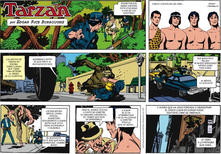 Tarzán en Español by Edgar Rice Burroughs on Sun, 09 May 2021