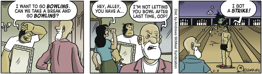 Alley Oop Comic Strip for February 09, 2019