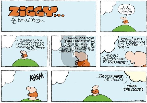 Ziggy on Sunday July 3, 2016 Comic Strip