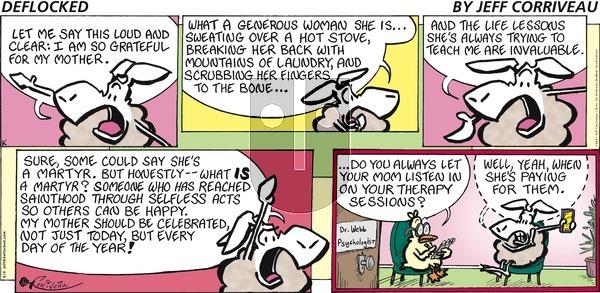 DeFlocked - Sunday May 9, 2021 Comic Strip